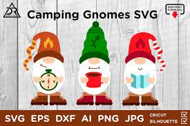 Svg stands for scalable vector graphics. Camping Gnomes Graphic By Davidrockdesign Creative Fabrica