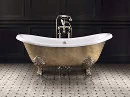 freestanding bathtub on legs lamÉ