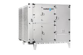 watergen s large scale unit is an scale atmospheric water generator awg