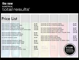 Matrix Hair Colour Price List In India