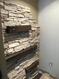diy stone wall slate wall panels interior