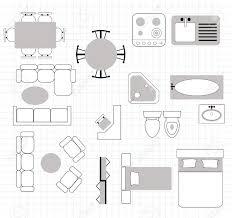 floor plan with furniture. Floor Plan With Furniture Stock Vector - 26161160 M