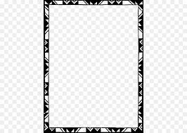 borders and frames ic design picture frames clip art border design black and white tribal png 480 640 free transpa borders and