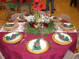 Mesmerizing Christmas Banquet Table Decorations 45 In Decor Inspiration  with Christmas Banquet Table Decorations