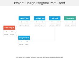 Project Design Program Pert Chart Graphics Presentation