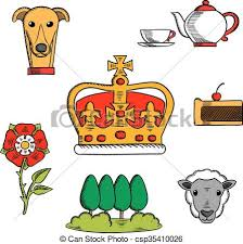 Traditional Symbols Traditional Symbols Of Great Britain Britain Royal Crown Adorned By