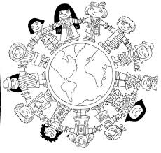 Small Picture Children Around The World Coloring Pages AZ Coloring Pages World