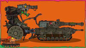 Cách vẽ Đấu sĩ chiến đấu Мусорный монстр + Terrible monster   Phim hoạt hình  về xe tăng