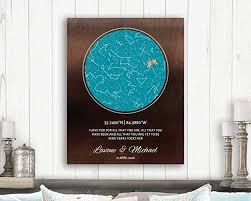 Amazon Com 9 Year Anniversary Gift Custom Star Map