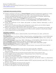 Sample Resume For Experienced Network Engineer Best Solutions Of Cisco Network Engineer Resume Doc Stunning Sample 8