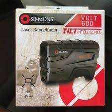 simmons vertical volt 600. new simmons 801600t volt 600 4 x 20mm laser rangefinder with tilt intelligence vertical 7