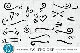 Free svg and png downloads! Flourish Svg Swoosh Svg Swashes Svg Swirl Svg Squiggle 280081 Cut Files Design Bundles