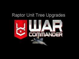 War Commander Raptor Upgrade Chart Youtube