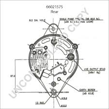 Roadster factory lucas model 18acr car dual lifier wiring diagram