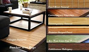 bamboo area rug bamboo area rugs 5x7