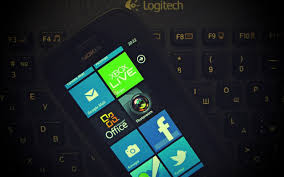 Set wallpaper on mobile keyboard and add. 3360581 Nokia Logitech Mobile Phone Keyboard Touch Screen Wallpaper