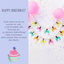 Amazing Geburtstagskarten Spruche Schwester 4 40 Schwester Sprüche