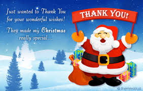 Your Wishes Made My Christmas Special Free Thank You Ecards