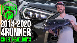 4runner Morimoto Fog Lights 2014 2020 Toyota 4runner Morimoto Xb Led Headlights Overview