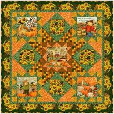 Free Downloadable Quilt Patterns & A Time to Harvest Quilt Pattern by SPX Fabrics at Bear Creek Quilting  Company.