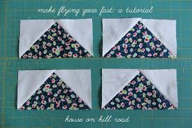 house on hill road: Make flying geese fast: a tutorial & Flying geese tutorial Adamdwight.com