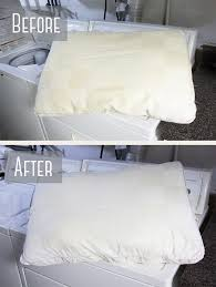 to wash pillows in the washing machine
