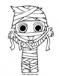 Small Picture print out halloween kids mummy coloring page Printable Coloring