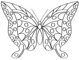 Caterpillar And Butterfly Coloring Pages Hungry Caterpillar