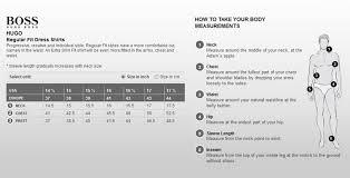 Hugo Boss Shoe Size Chart Hugo Boss Size Chart