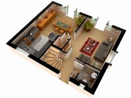 2 story house floor plans 3d lovely 2 y house design with floor plan 3d
