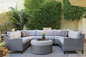 picture of oahu outdoor sectional sofa with ottoman outdoor sectional f77 outdoor