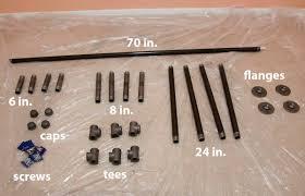 pipe desk parts