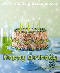 Birthday Candle Pics Cake Images Animated Bday Cake Scraps For