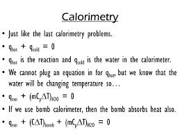 15 calorimetry
