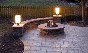 stamped concrete patio with fireplace. Fire Pit On Concrete Patio Best Of Patios Stamped With Fireplace