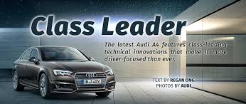 new car launch in singapore 2016The new Audi A4 redefines innovation