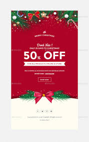 email offer christmas offers greetings email template psd by kalanidhithemes