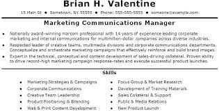 Marketing Campaign Manager Campaign Manager Resume Sample Excellent ...