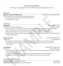 Resume Resume Certification Example Fresh Certifications Resumes Beauteous Cpr Certification On Resume
