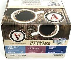 From the origin of colombia we offer this lively, bright and very satisfying coffee. Victor Allen Coffee Single Serve K Cup Variety Pack 30 Count Ebay