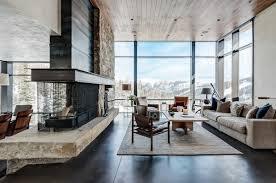 modern home architecture interior. Mountain Home Contemporary Architecture Interior Design Modern C