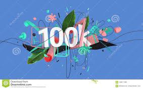 fancy word for green abstract social media composition stock illustration illustration