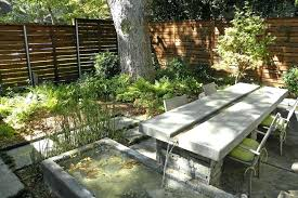 concrete outdoor fountains water features for patio modern with outdoor dining contemporary fountains and ponds ferns