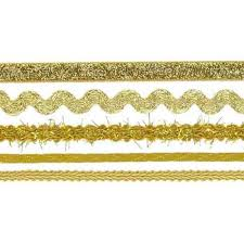 gold ribbon border gold trim ribbon border stickers hobby lobby 335372
