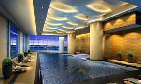 indoor swimming pool lighting. The Best Of Luxury Indoor Swimming Pools 3D Design With Recessed Lighting And Pool