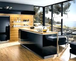 cool kitchen designs ideas simple with glossy black island also i9 kitchen
