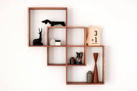 wall hanging shelf wood round