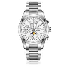 longines conquest watches the watch gallery longines conquest classic stainless steel automatic mens watch l27984726