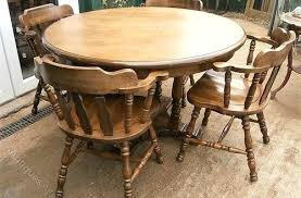 antique round dining table vintage round dining table amazing antiques atlas oak 4 captains chairs for antique oak dining table with claw feet