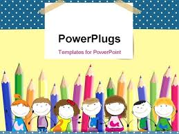Children Ppt Templates Happy Powerpoint Template Birthday Presentation Download Ppt Free